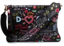 Dolce & Gabbana Graphic Shoulder Bag