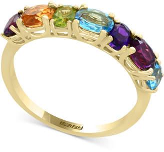Effy Mosaic by Multi-Gemstone Statement Ring (1-9/10 ct. t.w.) in 14k Gold