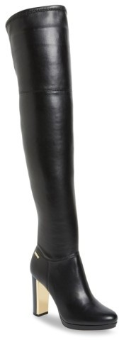 Women's Calvin Klein 'Polomia' Platform Over The Knee Boot
