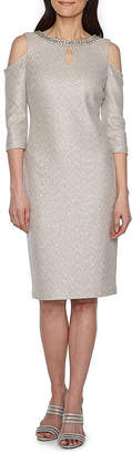 Melrose Sleeveless Embellished Party Dress-Petites