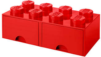 Lego 8 Stud Storage Drawer, Red