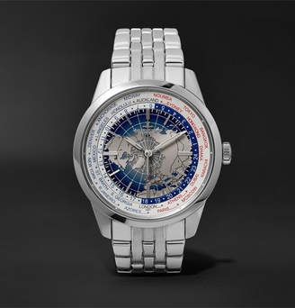 Jaeger-LeCoultre Geophysic Universal Time 41mm Stainless Steel Watch