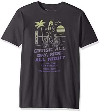 Neff Men's Bike Rental Short Sleeve Tee Shirt