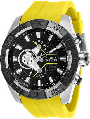 Invicta 25993 Silver-Tone & Yellow Pro Diver Watch