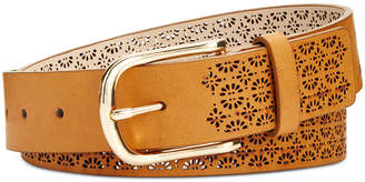 INC International Concepts I.N.C. Perforated Belt, Created for Macy's