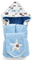 N. Bibz Thingz Personalized Hooded Towel