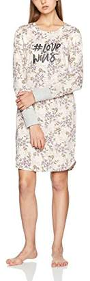 Skiny Women's Fading Sun Sleep Sleepshirt Langarm Nightie