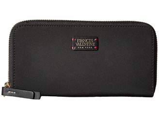Frances Valentine Kennedy Zip Around Wallet