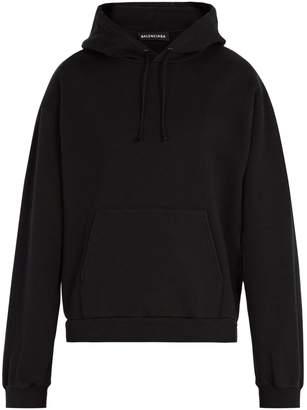 Balenciaga Self-help print hooded sweatshirt