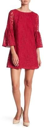Laundry by Shelli Segal A-Line Lace Dress (Petite)