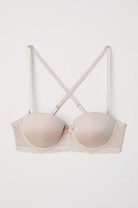 H&M Convertible Balconette Bra - Dusky pink - Women
