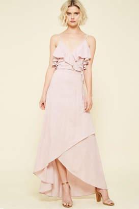Compendium boutique Pink High-Low Maxi