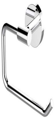 Eviva Round Holdy Toilet Paper or Towel Holder Bathroom Accessories Bedding