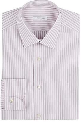 Boglioli Men's Striped Cotton Dress Shirt