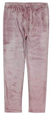 Crafted Kids Girls Velvet Leggings Child Pants Trousers Bottoms Stretch Colour