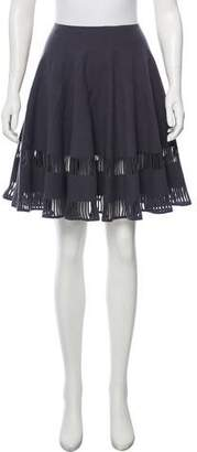 Alaia Wool Circle Skirt
