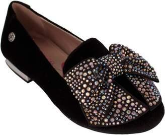 Jessica Simpson Crystal Bow Flat