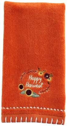 Celebrate Fall Together Happy Harvest Fingertip Towel