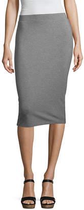 Liz Claiborne Studio Knit Midi Skirt
