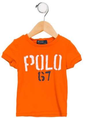 Polo Ralph Lauren Boys' Short Sleeve Crew Neck T-Shirt
