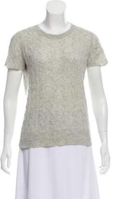 White + Warren Cashmere Short Sleeve Sweater