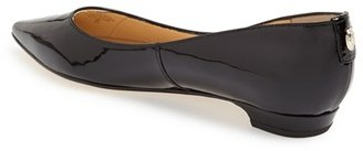 Ivanka Trump 'Tizzy' Pointed Toe Ballet Flat (Women)