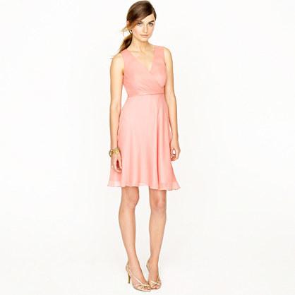 Evie dress in silk chiffon 3