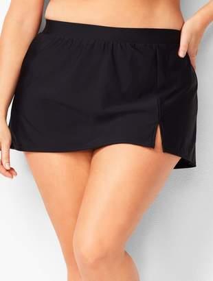 Talbots Plus Size Vented Swim Skirt