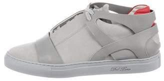 Del Toro Suede High-Top Sneakers
