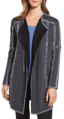 Women's Nic+Zoe Nightsong Long Sweater Jacket $198 thestylecure.com