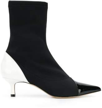 Aldo Castagna colour block sock boots