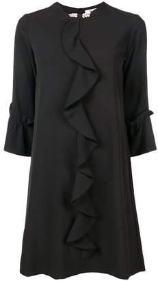 Blugirl ruffle trim dress