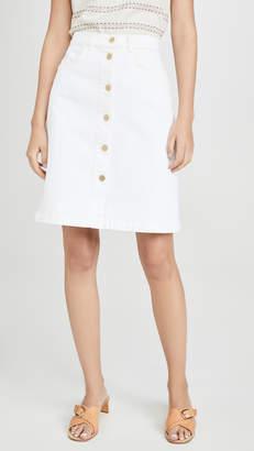 Frame Vintage Boot Skirt