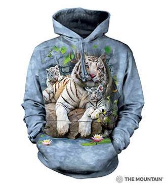 The Mountain White Tigers Bengal Adult Hoodie