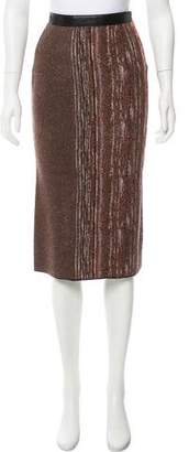 Missoni Knit Knee-Length Skirt w/ Tags
