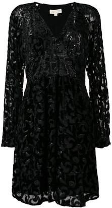 MICHAEL Michael Kors floral sheer dress