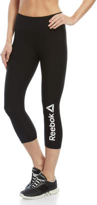 Reebok Quick Logo Capri Leggings