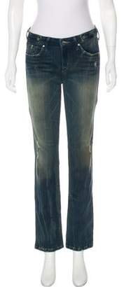 Sold Low-Rise Distressed Jeans