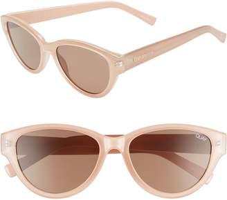 Quay Rizzo 55mm Cat Eye Sunglasses