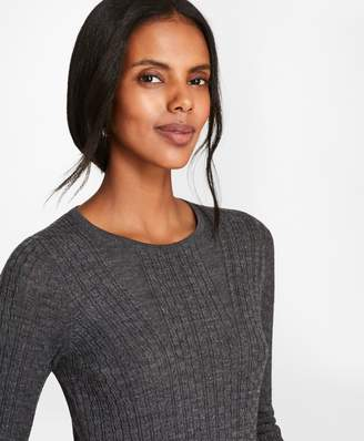 Brooks Brothers Cable-Knit Merino Wool Sweater