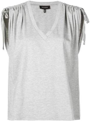 Robert Rodriguez ruched shoulder tank top