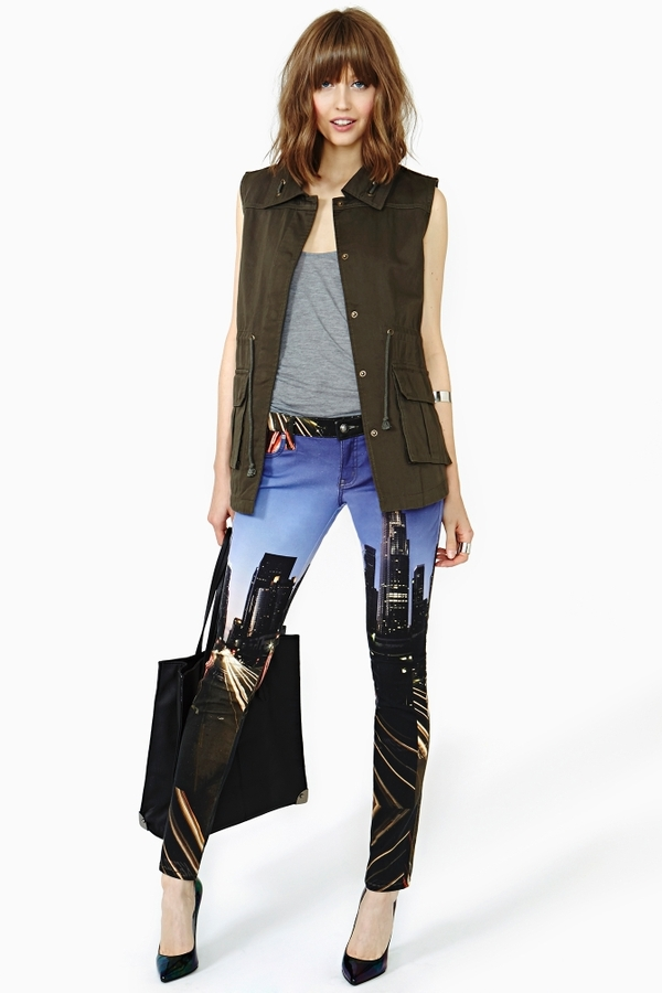 Nasty Gal Skyline Skinny Jeans