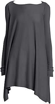 Rick Owens Women's Cashmere Convertible Poncho Top