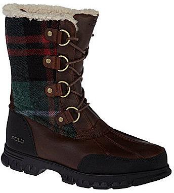 Polo Ralph Lauren Men ́s Elias Plaid Boots