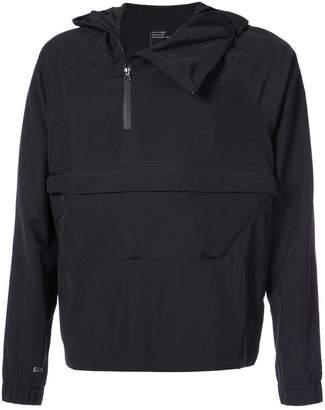 032c asymmetric pocket jacket - Black