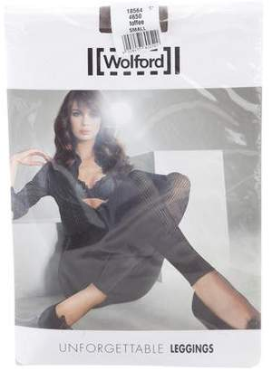 Wolford Unforgettable Patterned Leggings w/ Tags