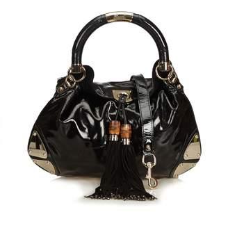 f6624a502 Gucci Black Patent leather Handbag