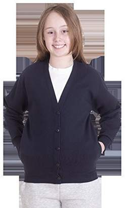 UC207 - - 9/10 YRS - 300GSM Childrens Cardigan