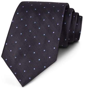 Bloomingdale's The Men's Store at Chevron Dot Classic Tie - 100% Exclusive