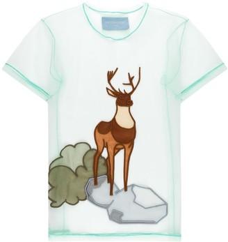 Viktor & Rolf Oh Deer motif T-shirt